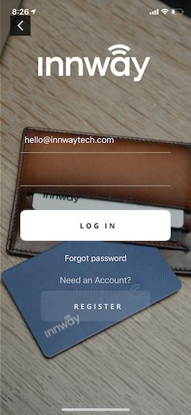 Innway app iOS login new
