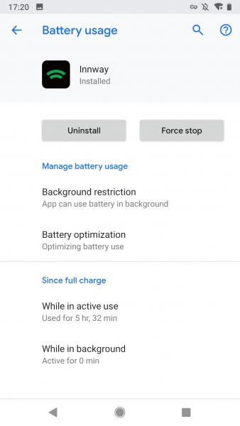 Google Pixel 2 battery optimization 5