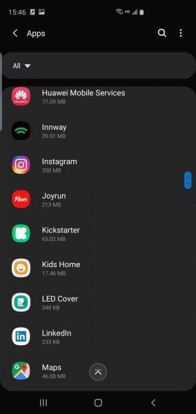 Samsung S10 Plus battery optimization 3