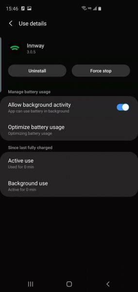 Samsung S10 Plus battery optimization 5